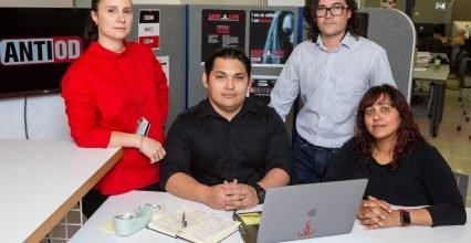 Design team creates a naloxone dispenser