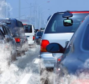 This happens in the body when you breathe in nitrogen oxides and particulate matter