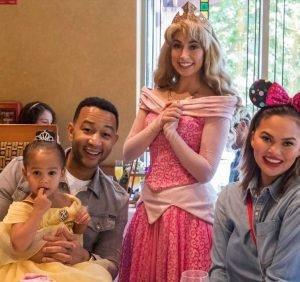 A+ Parents! Chrissy Teigen, John Legend Take Luna to Disneyland for B-Day