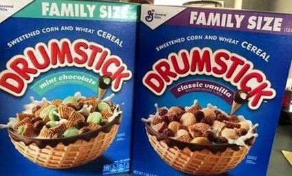 Drumstick Cereal Lets You Eat an Ice Cream-Inspired Breakfast, Because You Deserve It