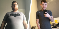 How Learning to Cook Healthy Helped This Guy Lose More Than 150 Pounds
