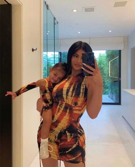 Kylie Jenner's Cutest Matching Moments with Daughter Stormi Webster