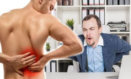 Back pain: Top tips to alleviate back pain in the workplace
