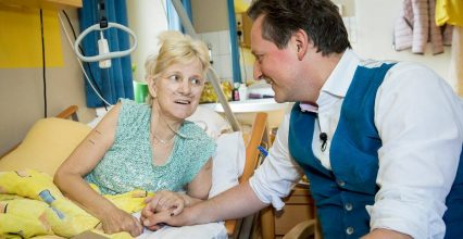 Hirschhausen to visit in the hospice: The second life begins when you get it, you only have one