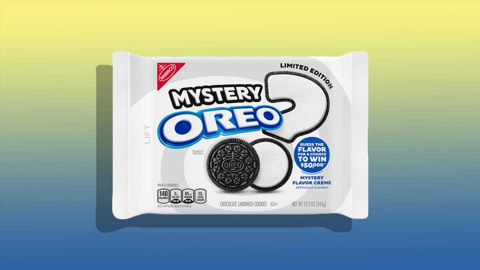 We Tried the New Mystery Oreo Flavor