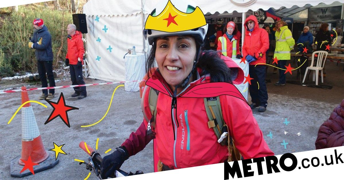 'I was struggling to cope with my husband's MS – mountain biking saved me'