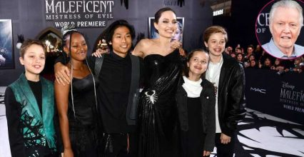 Jon Voight Gushes Over 'Good Mommy' Angelina Jolie at Premiere With Kids
