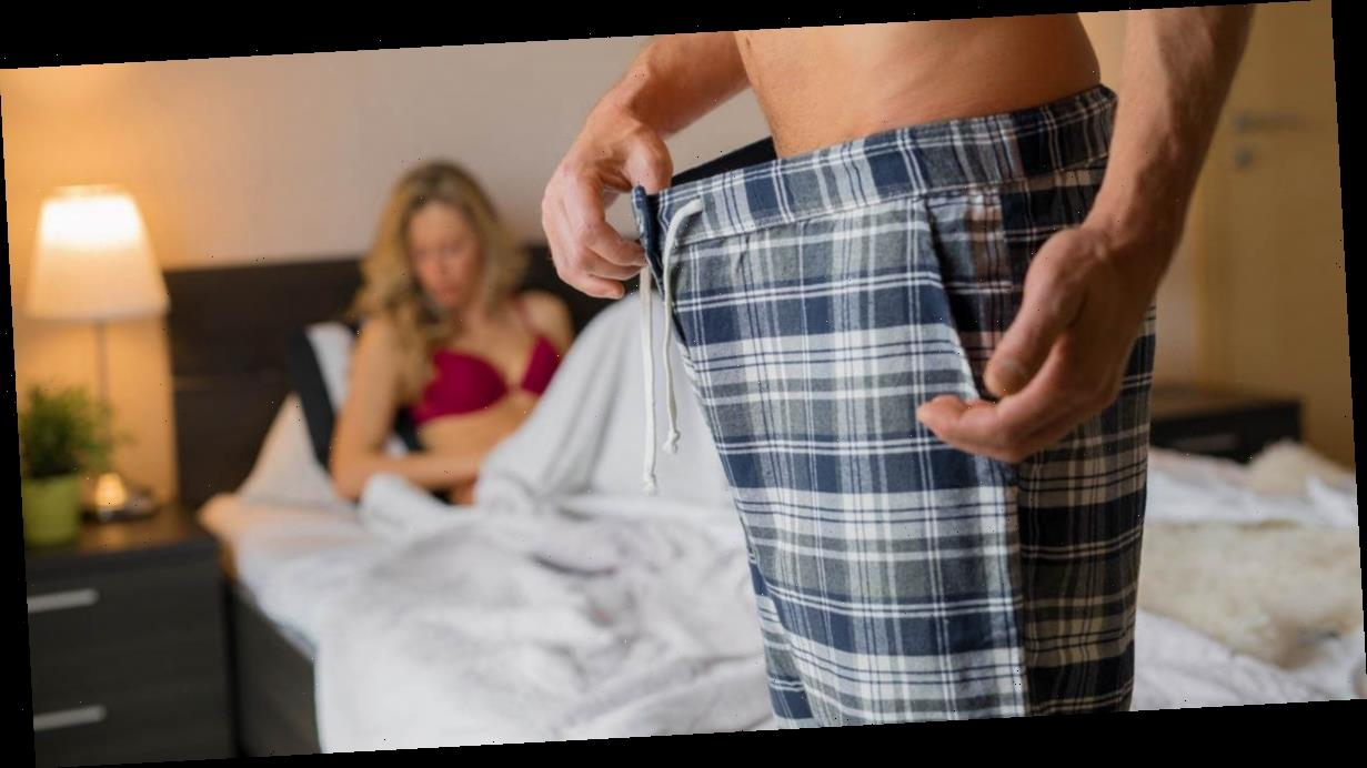 Erectile dysfunction affects 44% of men who don't want to resolve the problem