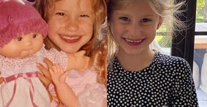Gisele Bündchen and Daughter Vivian Look Nearly Identical in Side-by-Side Childhood Photos