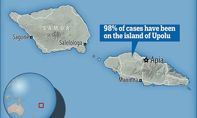 Anti-vaxxer arrested as Samoa battles measles epidemic