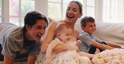 Kate Hudson's Sweetest Motherhood Quotes About Kids Ryder, Bingham and Rani