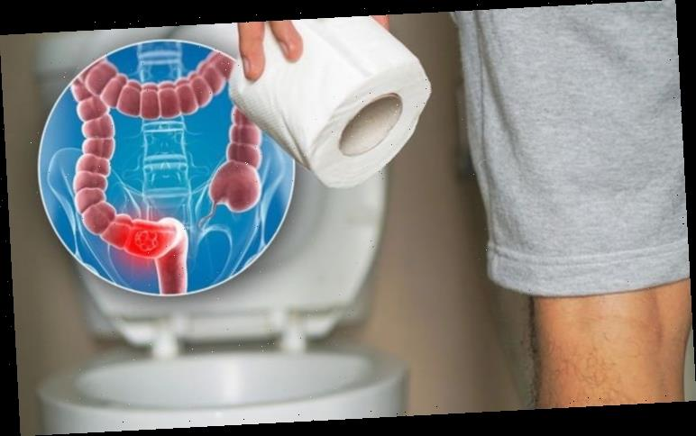 Bowel cancer warning: What colour is your poo? Signs to watch out for in the toilet