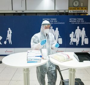 Corona testing is mandatory for all travel returnees May force me to the police at all?