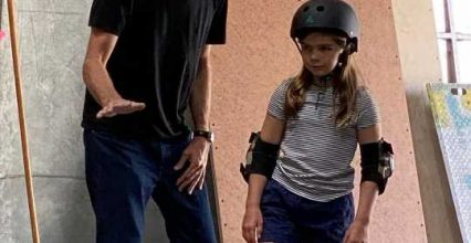 Patton Oswalt Talks Daughter Alice, 11, Getting a Private Skateboarding Lesson from Tony Hawk