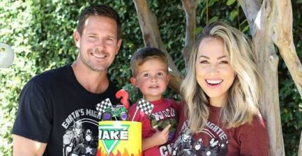 See Jessica Hall Celebrate Son With 'Super Small' Party Amid Pandemic