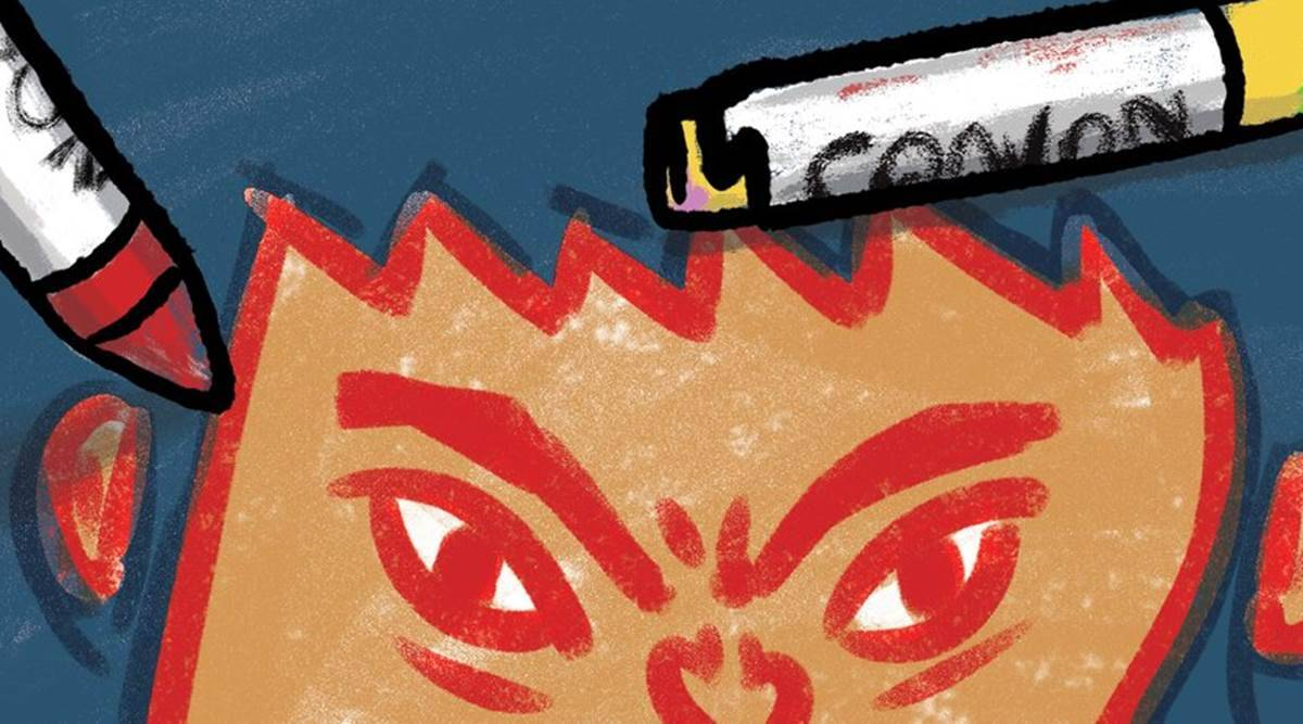 Short story for kids: Angry Akku by Vinayak Varma