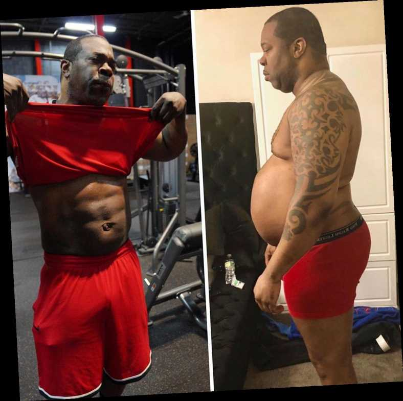 Busta Rhymes Shares Dramatic Before-and-After Photo of Body Transformation: 'Don't Ever Give Up on Yourself'