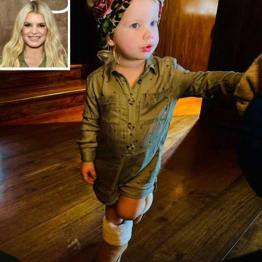 The Absolute Sweetest Photos of Jessica Simpson's Daughter Birdie