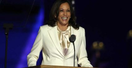 Kamala Harris sent a powerful message with her white suit