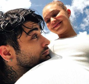 Gigi Hadid Shares Sweet Throwback Pregnancy Pictures with Zayn Malik: 'Awaiting Our Baby Girl'