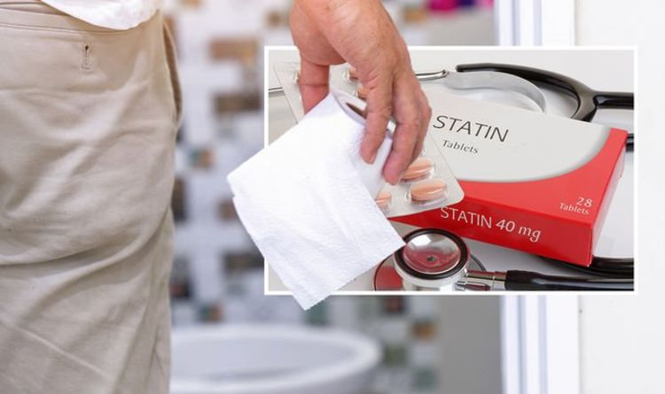 Statins side effects: The signs when you go to the toilet – changes in bowel habits