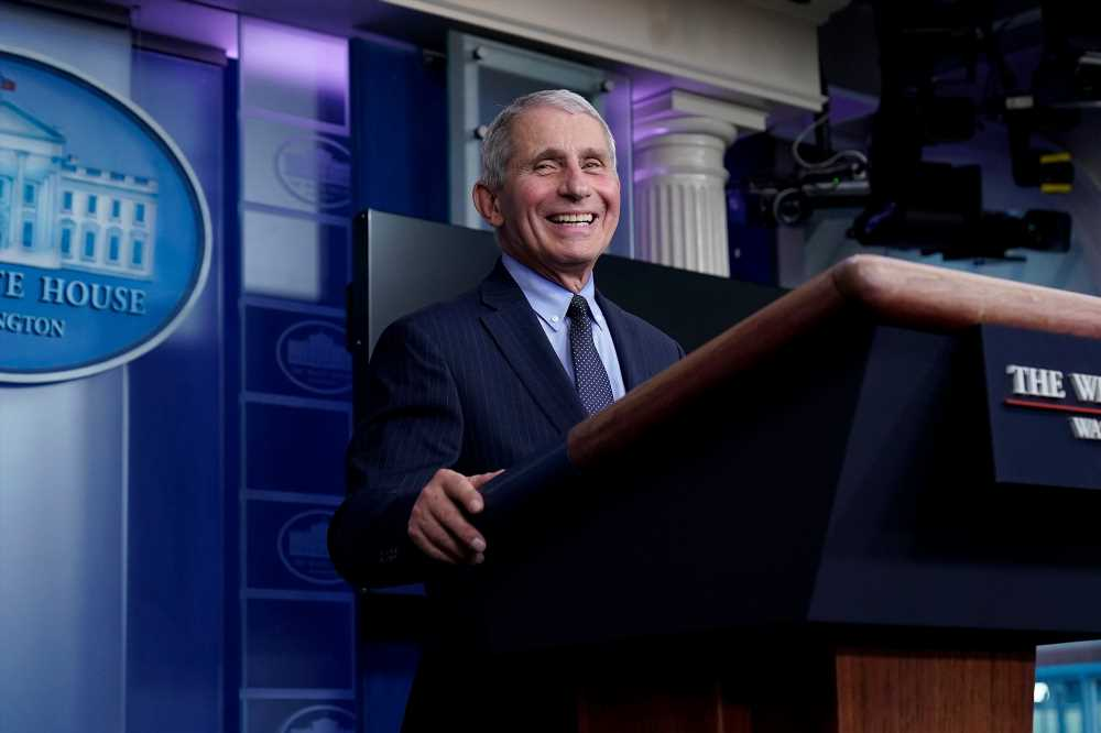 Dr. Fauci Says Working with Biden Administration Is 'Liberating' as He Resumes White House Press Briefings