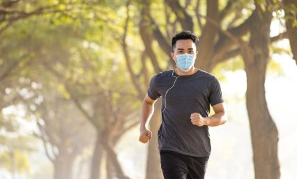 Why joggers and cyclists should wear masks