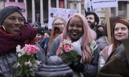 Powerful photos from 5 years of Women's March London