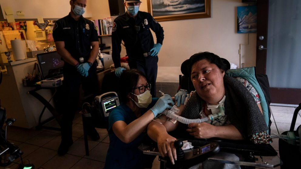 Nurses, nonprofits, others take vaccine to homebound people