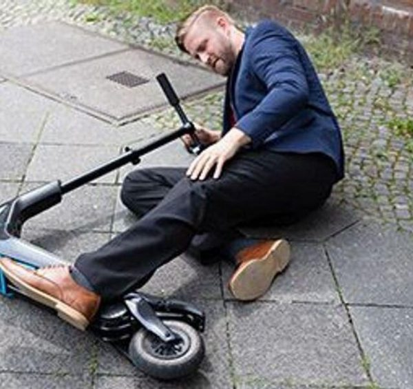 Big rise in injuries from e-scooters, hoverboards